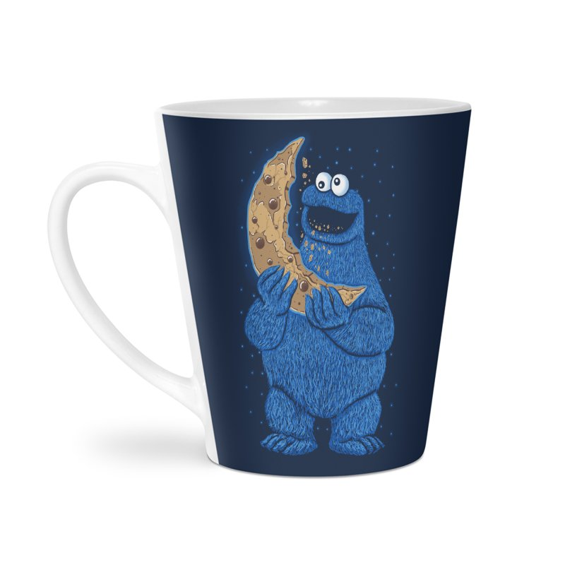 Cookie Moon Accessories Latte Mug by Fathi
