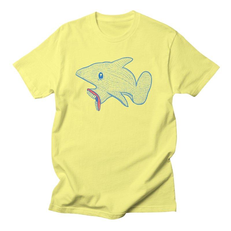 Shaaaark Men's T-Shirt by Fathi