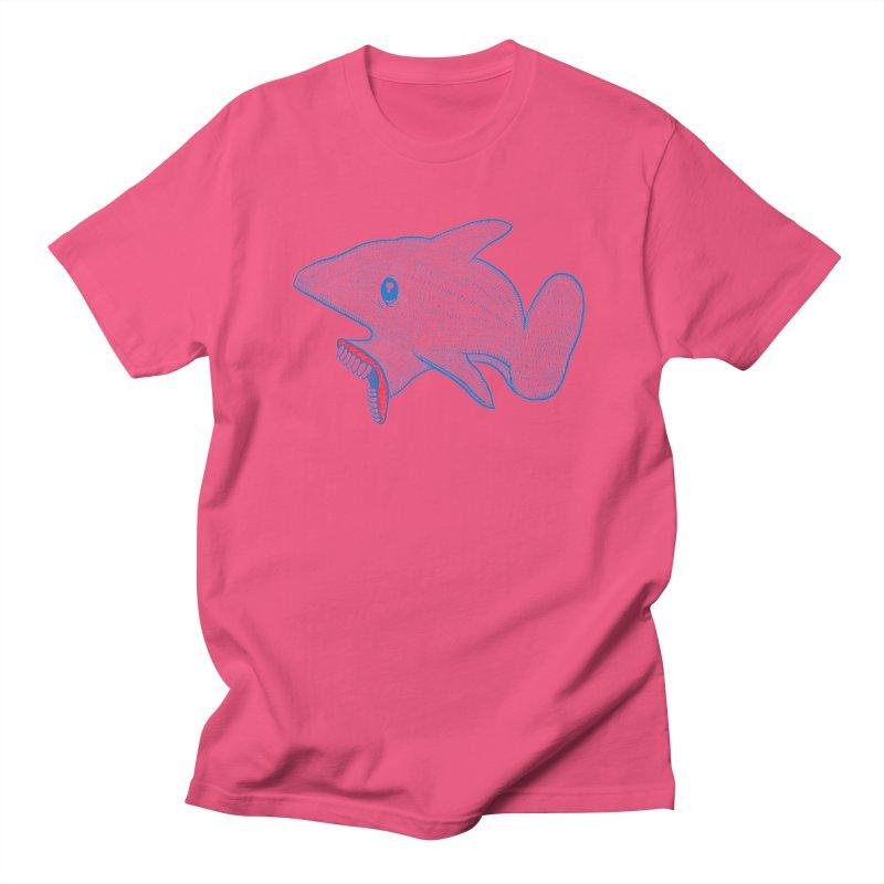 Shaaaark Women's Regular Unisex T-Shirt by Fathi