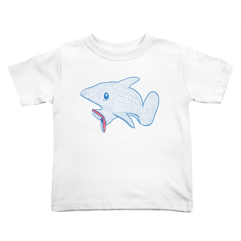 Shaaaark Kids Toddler T-Shirt by Fathi