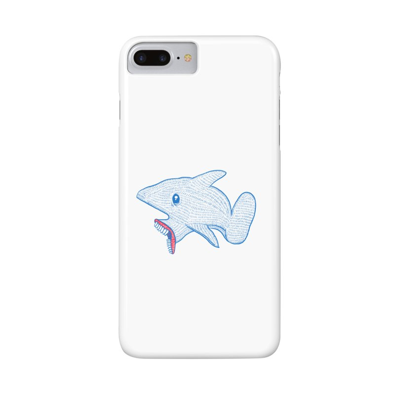 Shaaaark Accessories Phone Case by Fathi