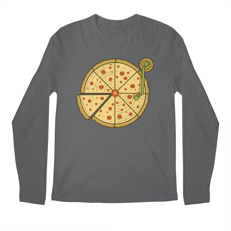 Piza Vinyl Men's Longsleeve T-Shirt by Fathi