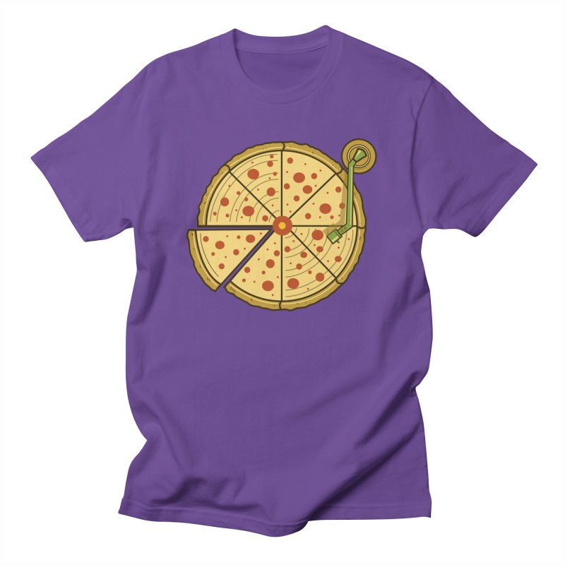 Piza Vinyl Women's Unisex T-Shirt by Fathi