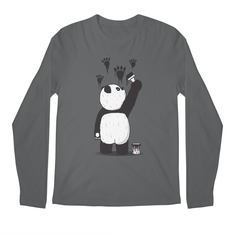 Pandalism Men's Longsleeve T-Shirt by Fathi