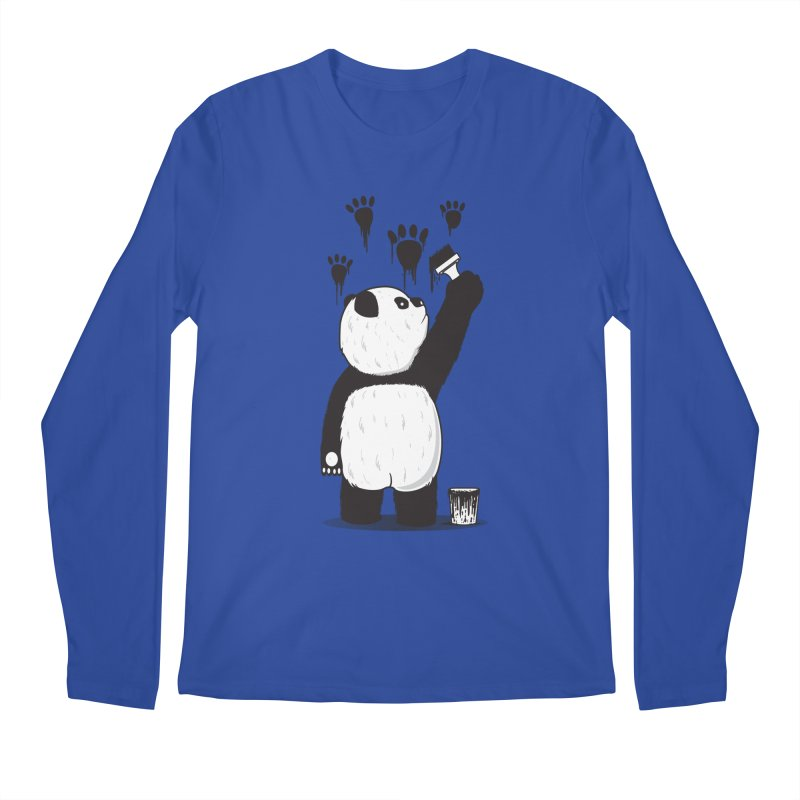 Pandalism Men's Regular Longsleeve T-Shirt by Fathi