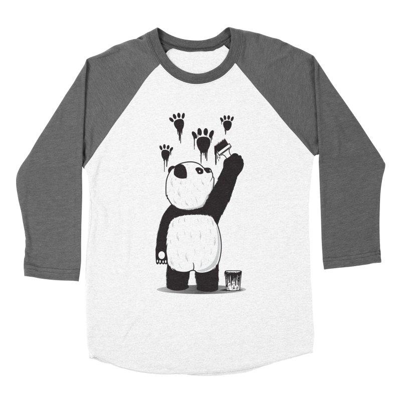 Pandalism Women's Baseball Triblend Longsleeve T-Shirt by Fathi