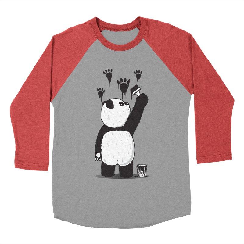 Pandalism Women's Baseball Triblend T-Shirt by Fathi