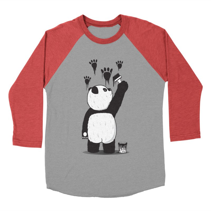 Pandalism Men's Baseball Triblend T-Shirt by Fathi