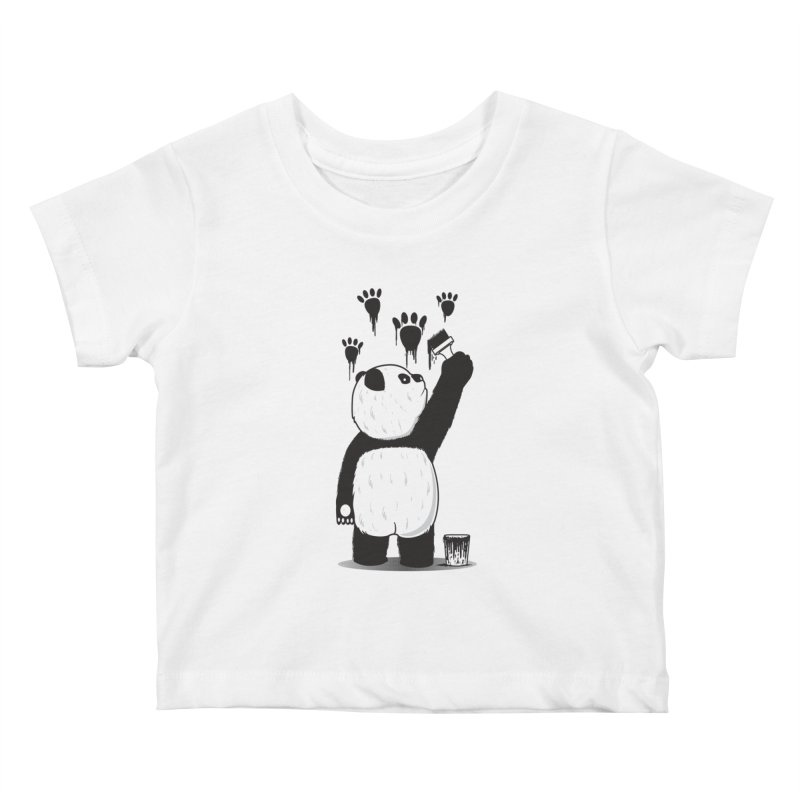 Pandalism Kids Baby T-Shirt by Fathi