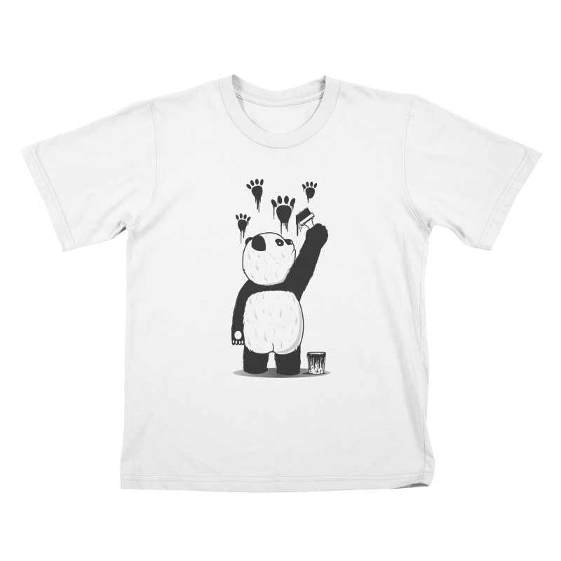 Pandalism Kids T-shirt by Fathi