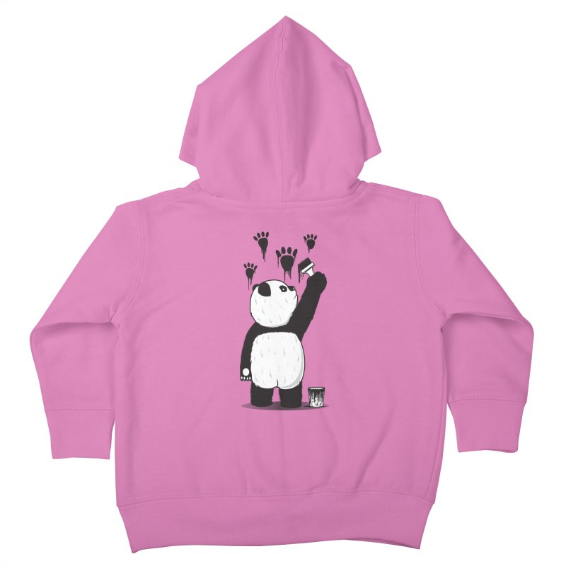 Pandalism Kids Toddler Zip-Up Hoody by Fathi