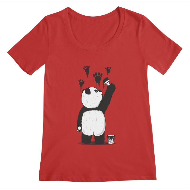 Pandalism Women's Scoopneck by Fathi