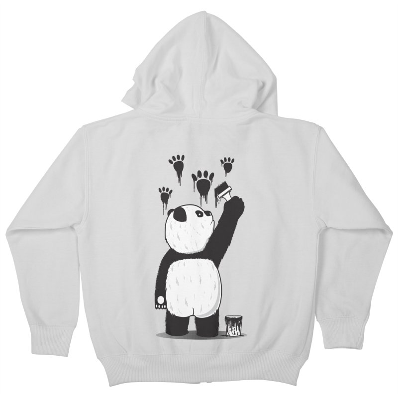 Pandalism Kids Zip-Up Hoody by Fathi