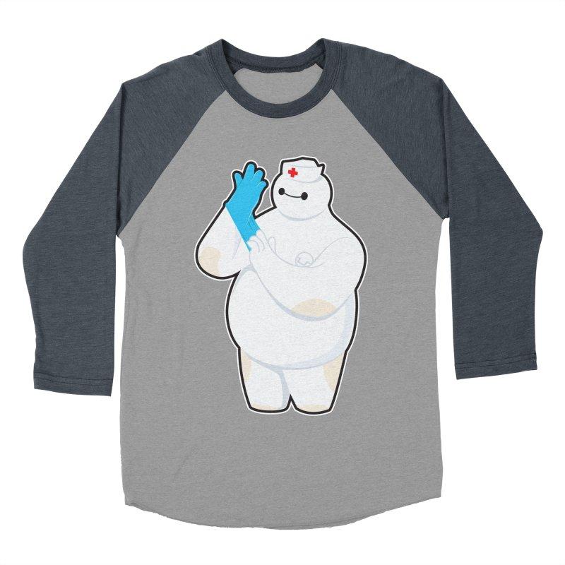 Robotic Nurse Women's Baseball Triblend Longsleeve T-Shirt by Fathi