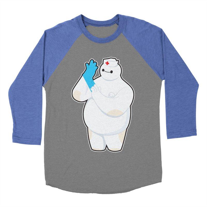 Robotic Nurse Men's Baseball Triblend T-Shirt by Fathi