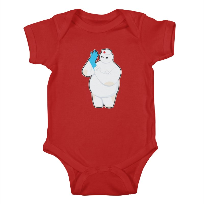 Robotic Nurse Kids Baby Bodysuit by Fathi