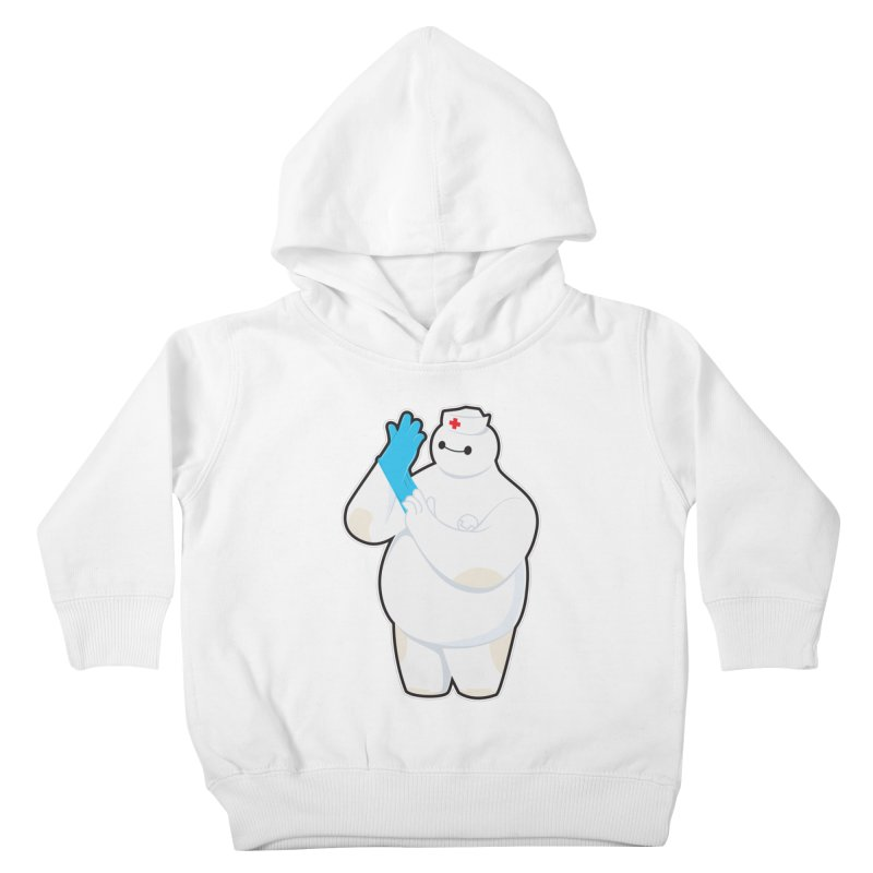 Robotic Nurse Kids Toddler Pullover Hoody by Fathi