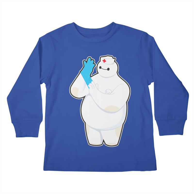 Robotic Nurse Kids Longsleeve T-Shirt by Fathi