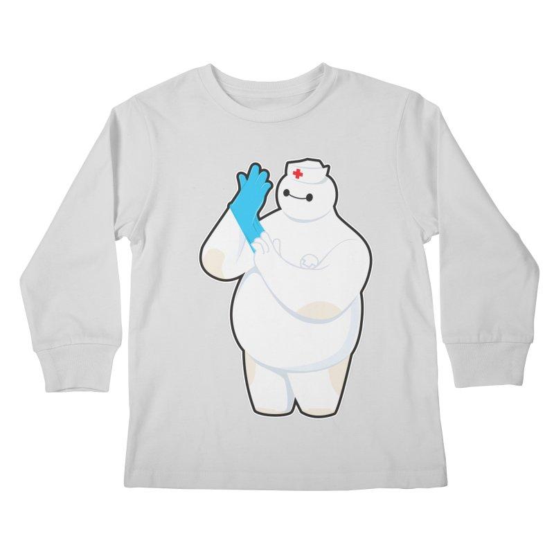 Robotic Nurse Kids Longsleeve T-Shirt by Fathi