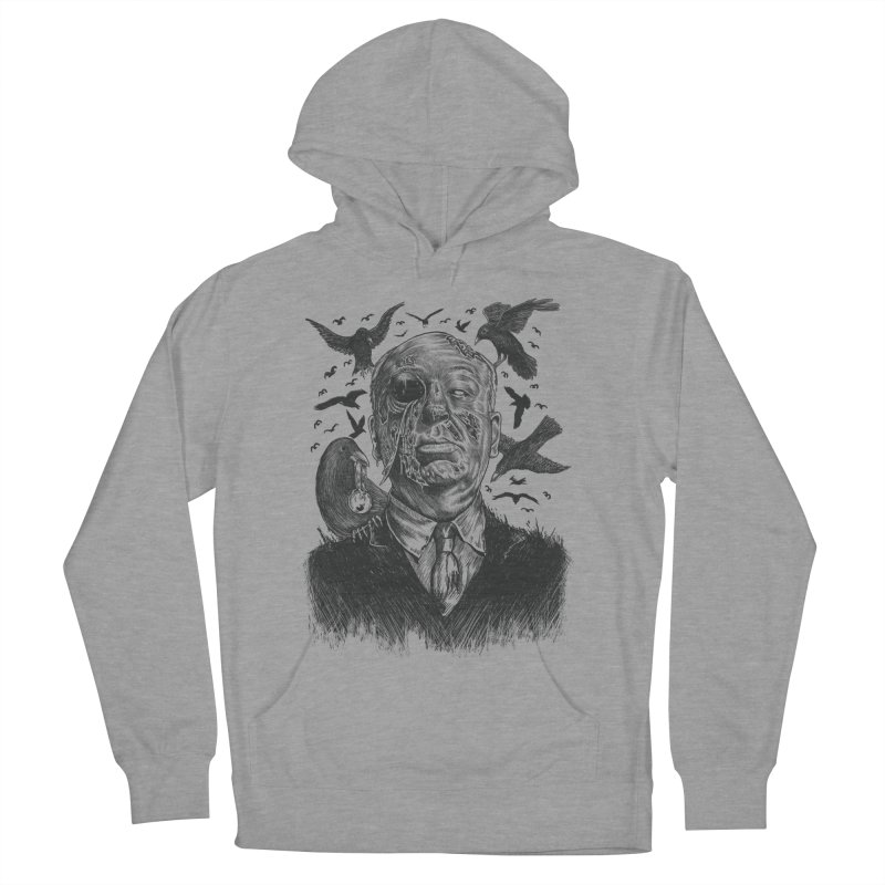 Bird Attack Men's Pullover Hoody by Fathi
