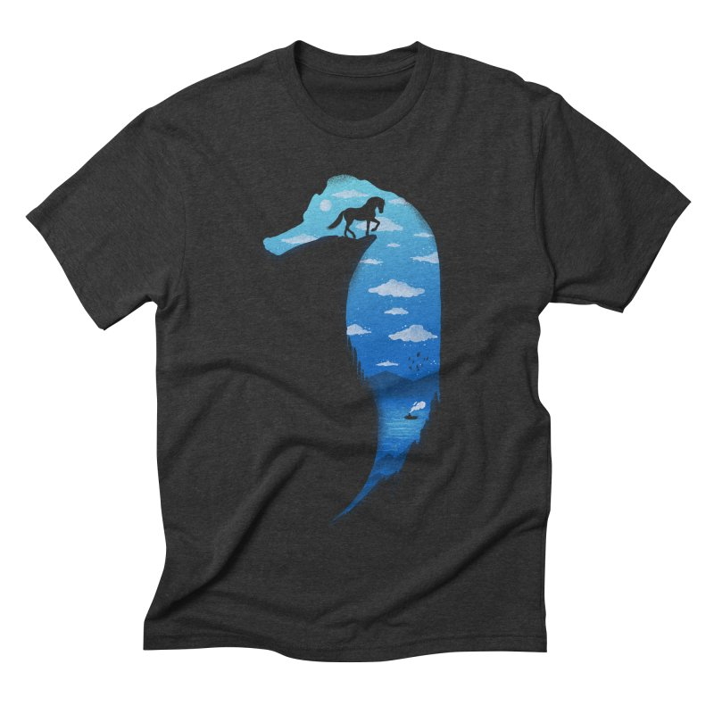 SeaHorse Men's Triblend T-shirt by Fathi