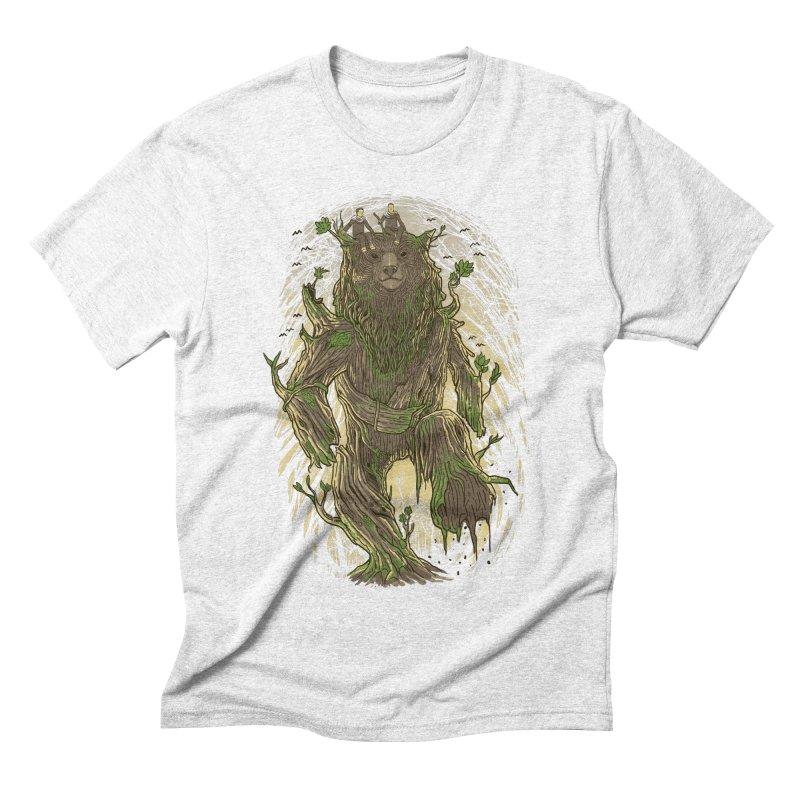 TreeBear Men's Triblend T-shirt by Fathi