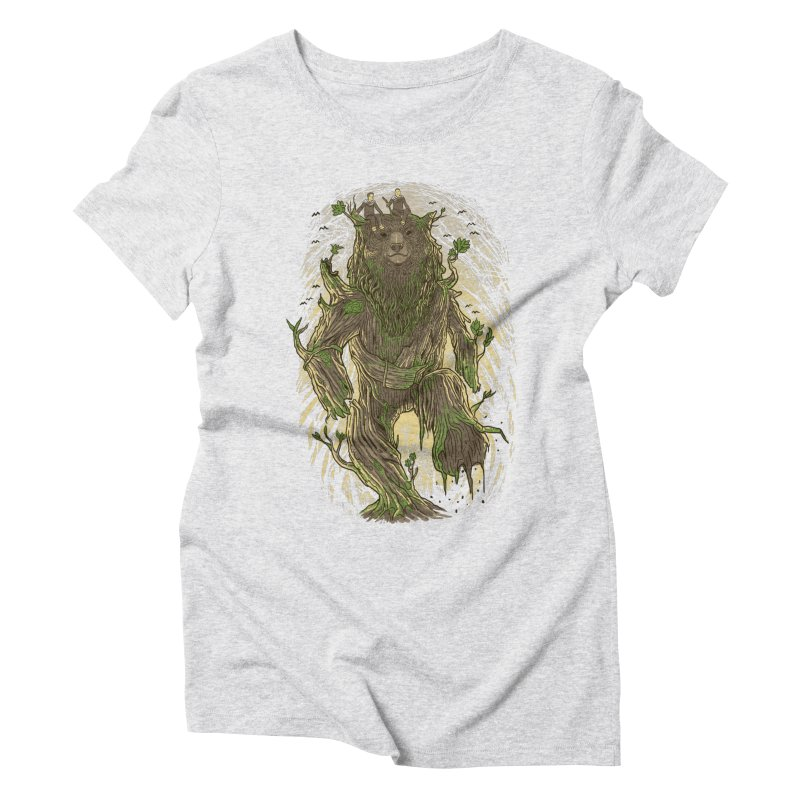 TreeBear Women's Triblend T-shirt by Fathi