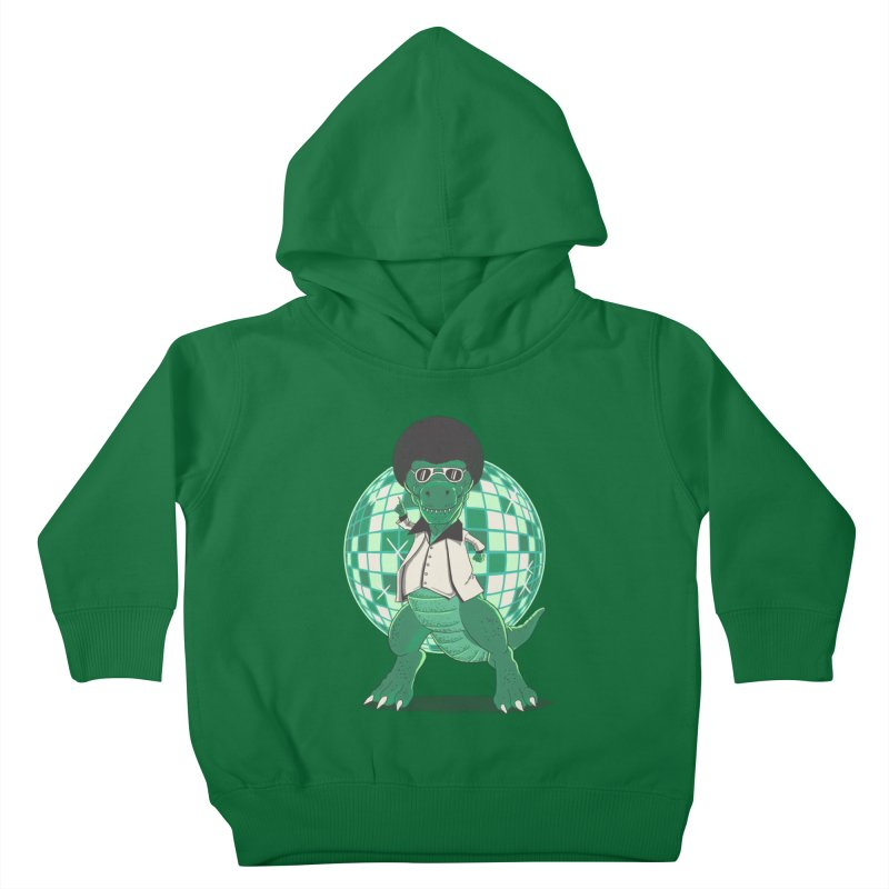 Discosaurs Kids Toddler Pullover Hoody by Fathi