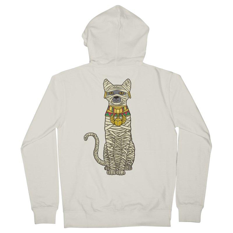 Ancient Cat Return Women's Zip-Up Hoody by Fathi