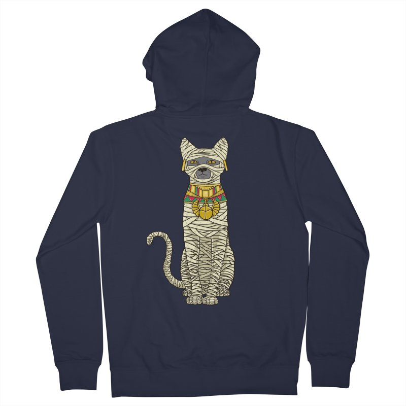 Ancient Cat Return Women's Zip-Up Hoody by Fathi