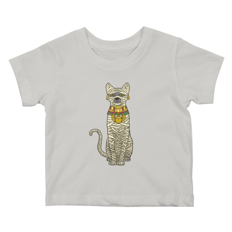 Ancient Cat Return Kids Baby T-Shirt by Fathi