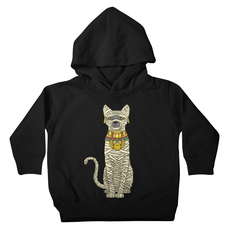 Ancient Cat Return Kids Toddler Pullover Hoody by Fathi