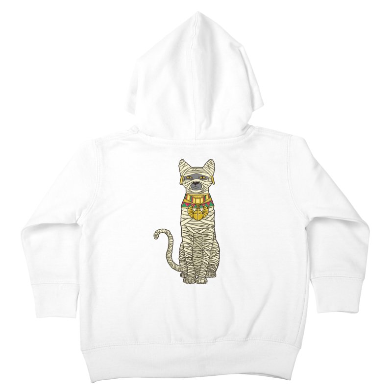 Ancient Cat Return Kids Toddler Zip-Up Hoody by Fathi