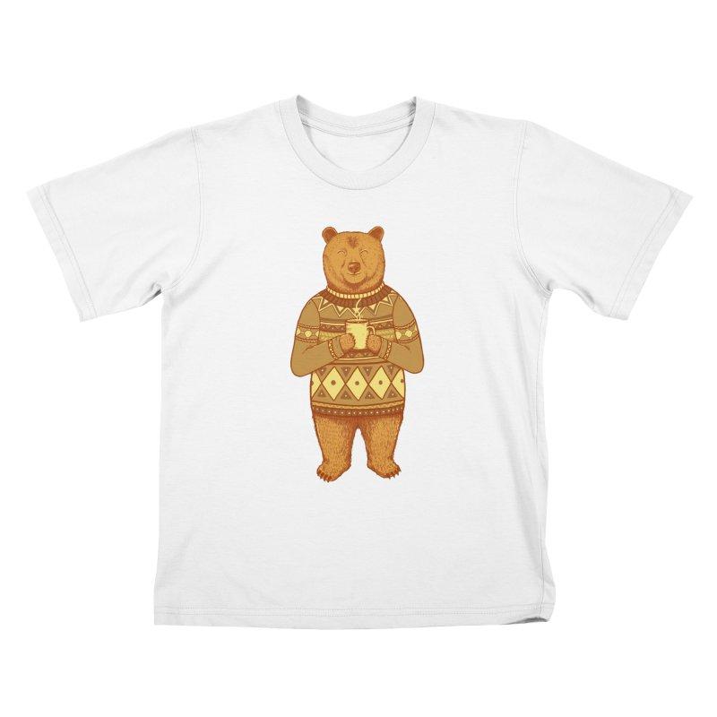 Keep Warm Kids T-shirt by Fathi