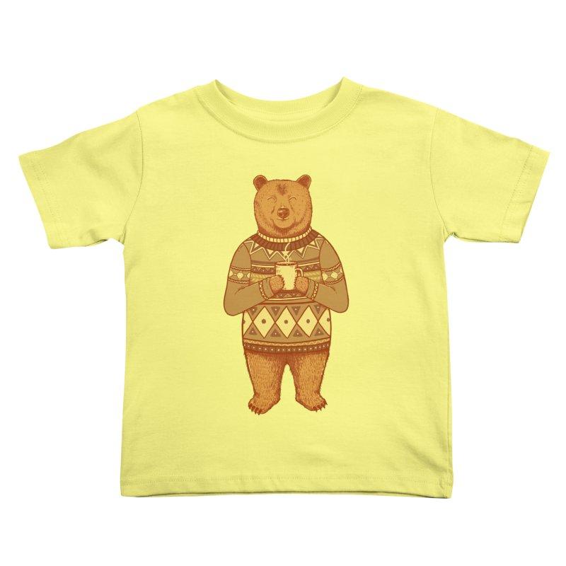 Keep Warm Kids Toddler T-Shirt by Fathi