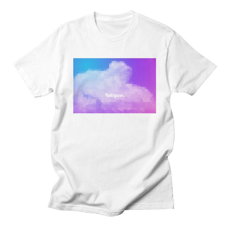 cloudwatching in Men's Regular T-Shirt White by Fatigue Streetwear