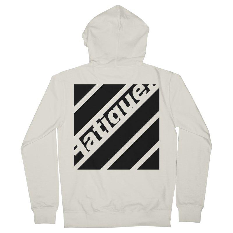 Fatigue Bars- Black Women's Zip-Up Hoody by Fatigue Streetwear