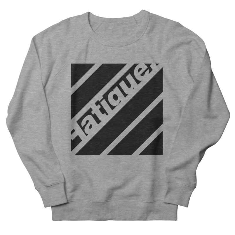 Fatigue Bars- Black Men's Sweatshirt by Fatigue Streetwear
