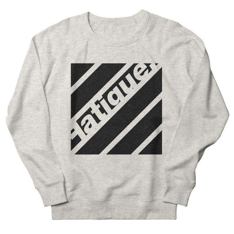 Fatigue Bars- Black Men's Sweatshirt by Fatigue Streetwear