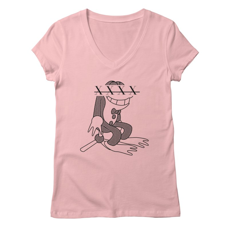 Flip Women's V-Neck by Fatigue Streetwear