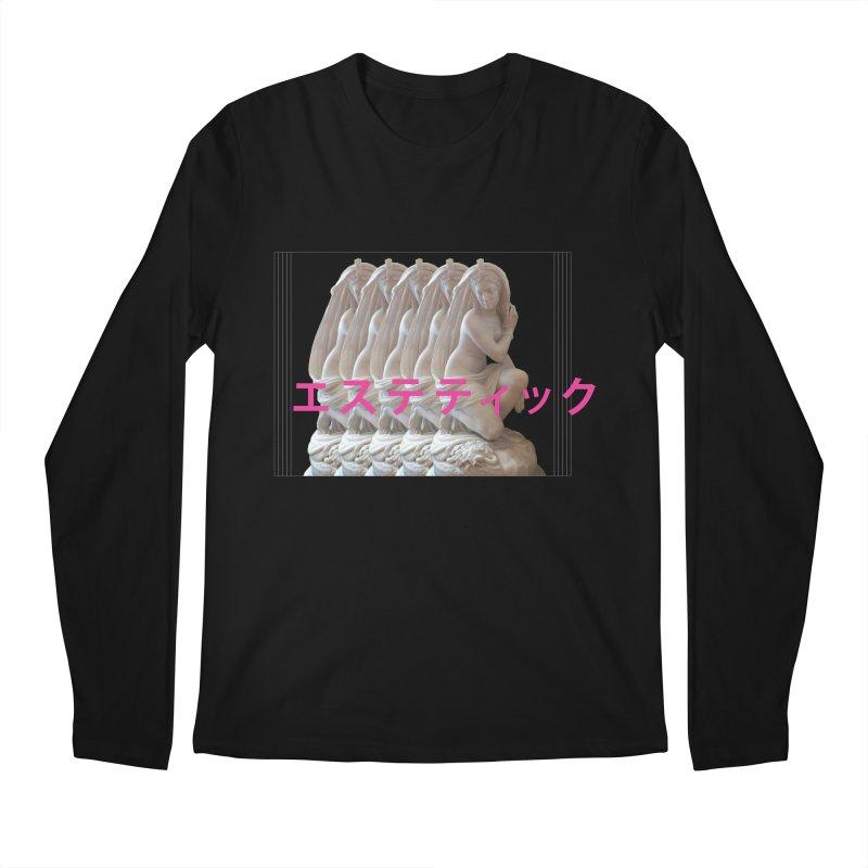 a e s t h e t i c Men's Longsleeve T-Shirt by Fatigue Streetwear