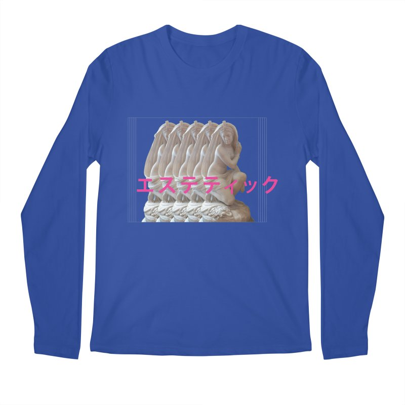 a e s t h e t i c Men's Longsleeve T-Shirt by Fatigue Streetwear