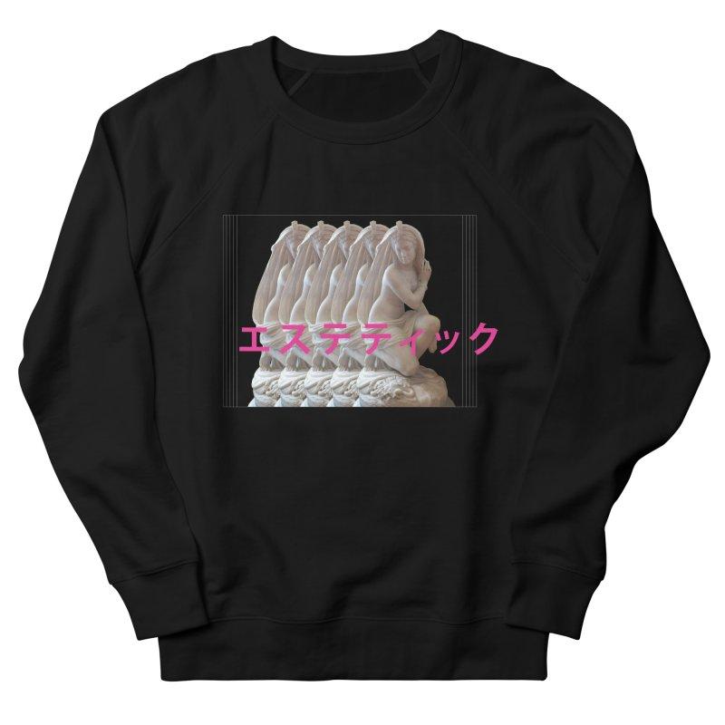 a e s t h e t i c Men's French Terry Sweatshirt by Fatigue Streetwear