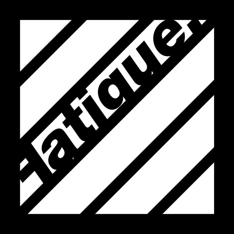 Fatigue Bars- White by Fatigue Streetwear