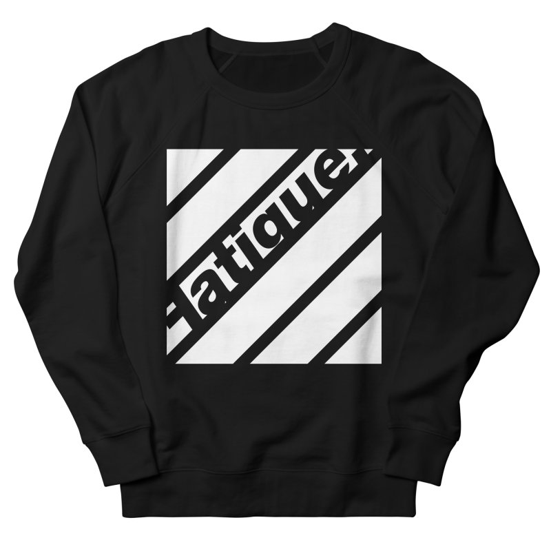 Fatigue Bars- White Men's Sweatshirt by Fatigue Streetwear