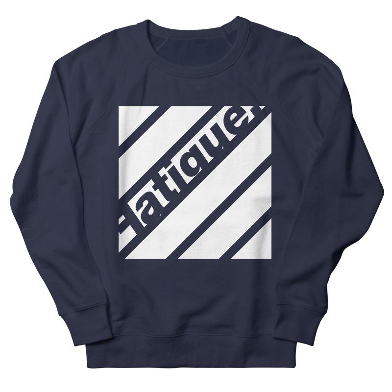 Fatigue Bars- White Men's Sweatshirt by Fatigue Streetwear