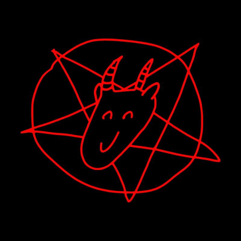 Cute Satan Men's T-Shirt by Fat.Max
