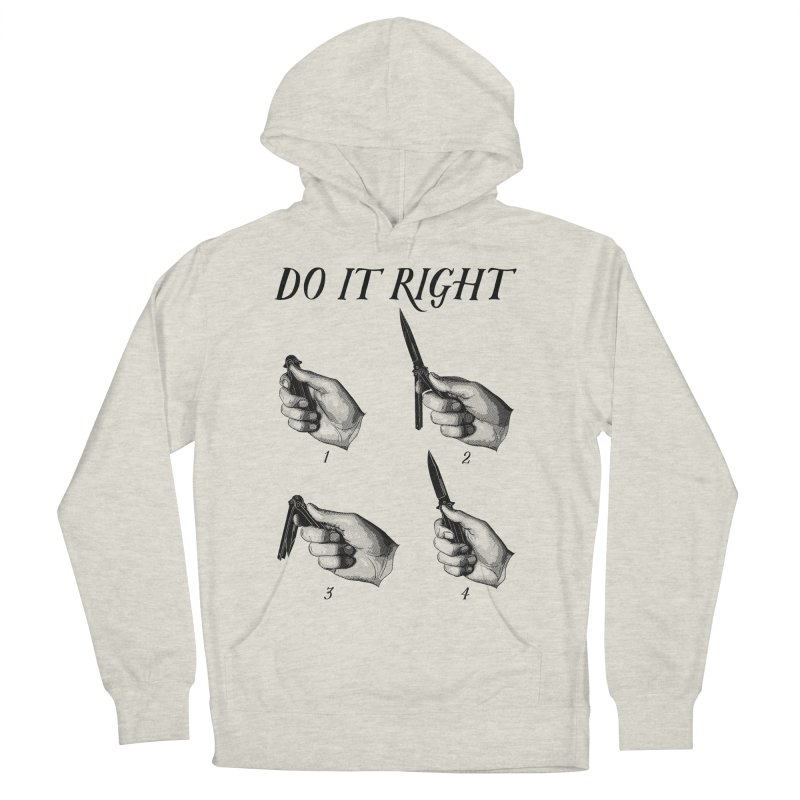 Do It Right Women's Pullover Hoody by Fat.Max