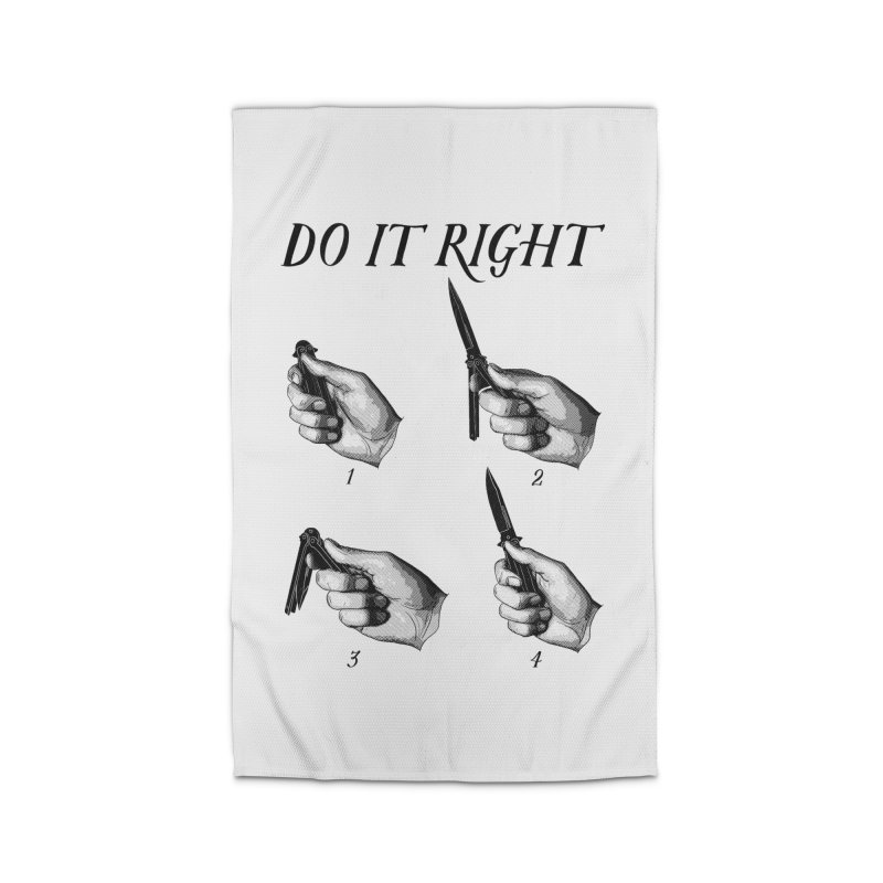Do It Right Home Rug by Fat.Max