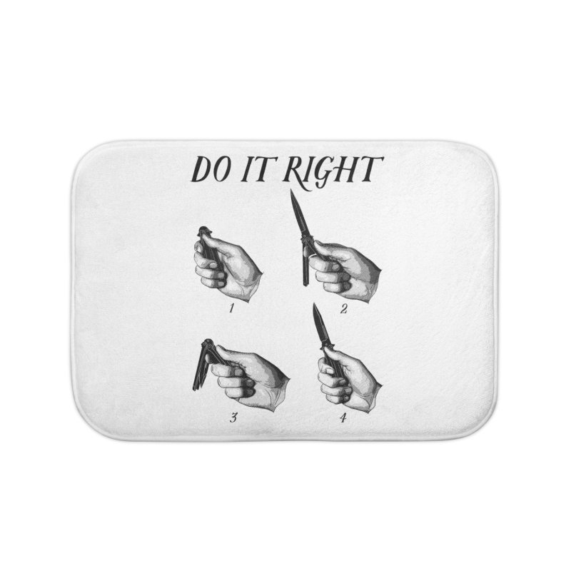 Do It Right Home Bath Mat by Fat.Max